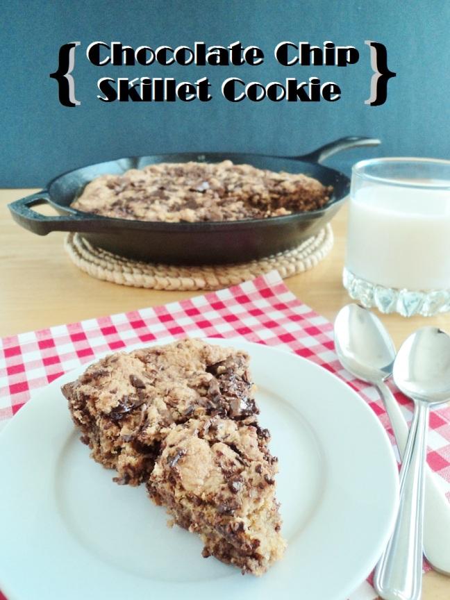 skillet cookie 7